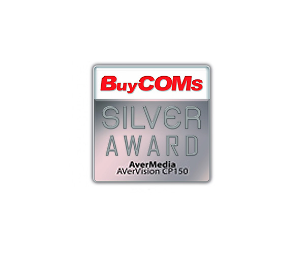 AVerVision CP150 Obtained BuyCOMs Silver Award