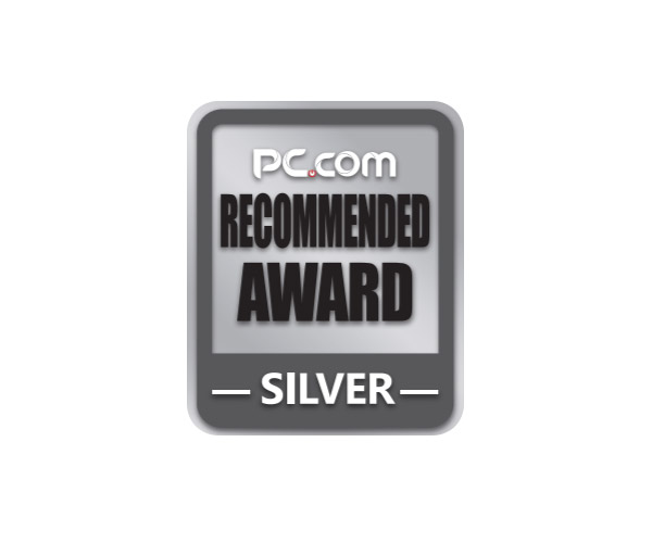 PC.COM Recommended Award Silver