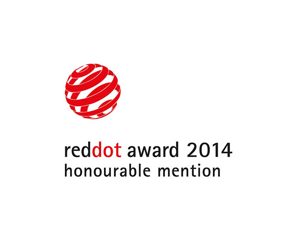 2014 Red Dot Honourable Mention Award