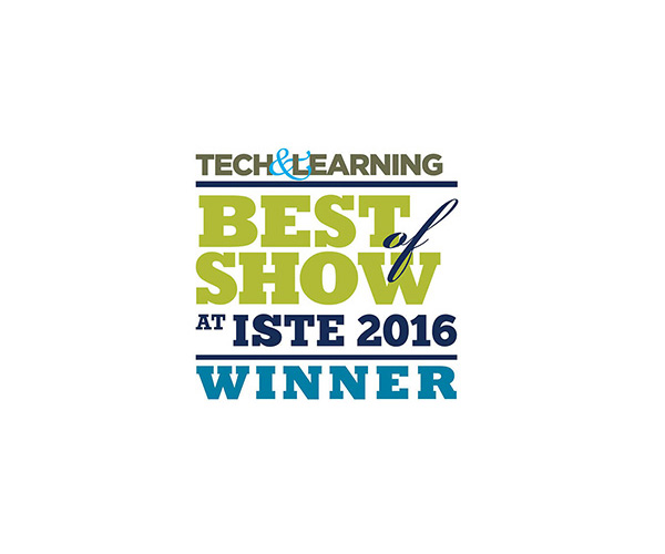 Best of Show Award at ISTE 2016
