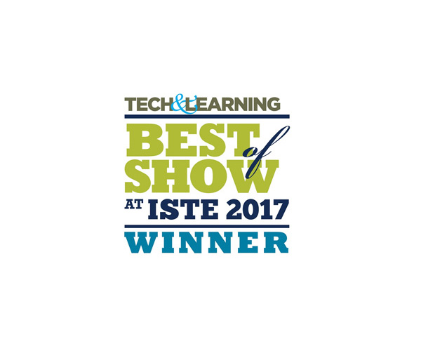 Best of Show Award at ISTE 2017