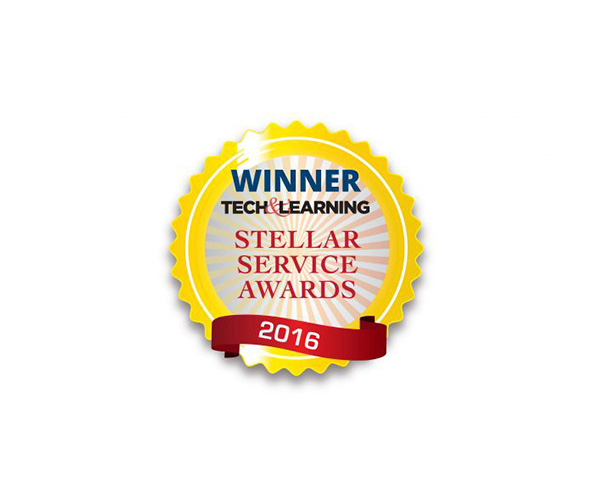 2016 Tech & Learning Stellar Service Award